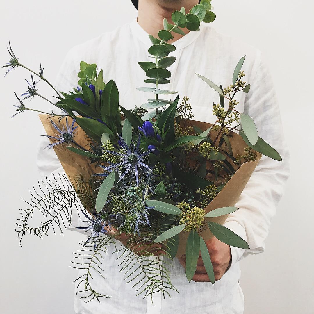 涼しげな花で暑い夏を乗り切る