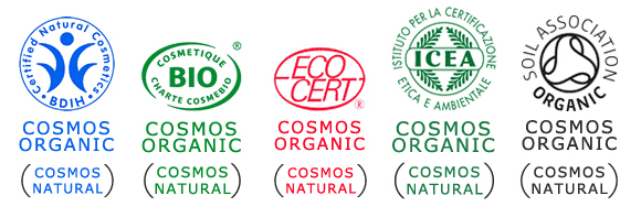 cosmos-organicのマーク